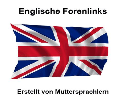 Englische Backlinks aus Foren